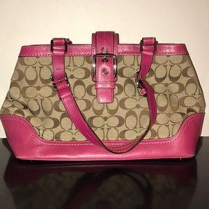Coach Hampton Carryall purse